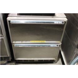 SILVERKING UNDER COUNTER DOUBLE COOLING DRAWER