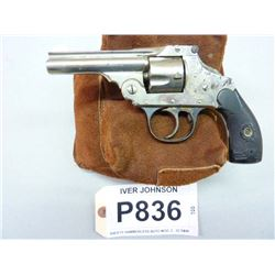 IVER JOHNSON, MODEL HAMMERLESS AUTO , CALIBER .32 S&W