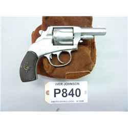 IVER JOHNSON, MODEL AMERICAN BULLDOG, CALIBER .38 S&W