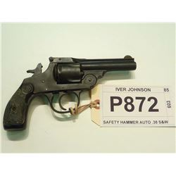 IVER JOHNSON, MODEL SAFETY HAMMER AUTO 2ND MODEL, CALIBER .38 S&W