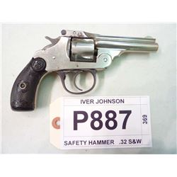 IVER JOHNSON, MODEL SAFETY HAMMER, CALIBER .32 S&W