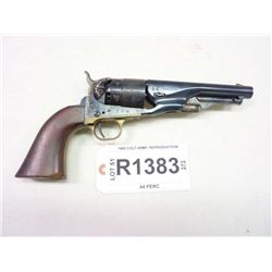 1860 COLT ARMY REPRODUCTION, MODEL 1860 COLT ARMY REPRODUCTION, CALIBER .44 PERC.