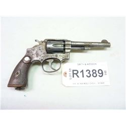 SMITH & WESSON, MODEL H.K. 38 1905 MOD 3 CHG 4, CALIBER  .38 S & W