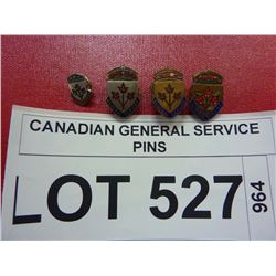 CANADIAN GENERAL SERVICE PINS