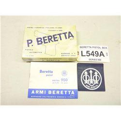 BERETTA PISTOL BOX