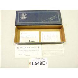 SMITH & WESSON PISTOL/REVOLVER  BOX