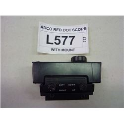 ADCO RED DOT SCOPE