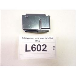 BROWNING BAR MKII 243/308 MAGAZINE