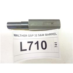 WALTHER GSP 32 S&W BARREL