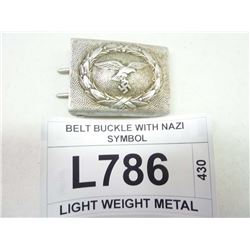 BELT BUCKLE WITH NAZI SYMBOL