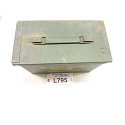 MILITARY AMMO CAN  FOR NATO 5.56MM AMMO