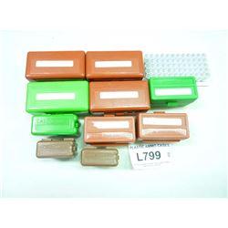 PLASTIC AMMO CASES