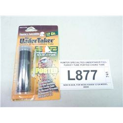 HUNTER SPECIALTIES UNDERTAKER FULL TURKEY TUBE PORTED CHOKE TUBE