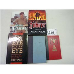 MILITARY HARDCOVER BOOKS