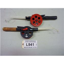 NORMARK BUMERANG ICE FISHING JIGGING ROD/REEL