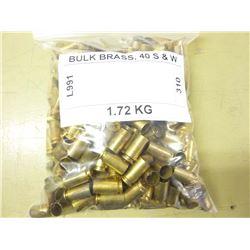BULK BRASS, 40 S & W