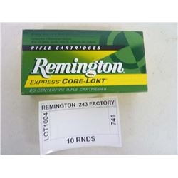 REMINGTON .243 FACTORY