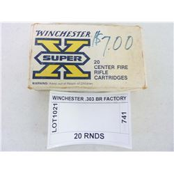 WINCHESTER .303 BR FACTORY