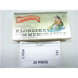 WINCHESTER KLONDIKE COMMEMORATIVE, 30-30 FACTORY
