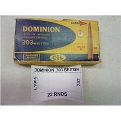 DOMINION .303 BRITISH
