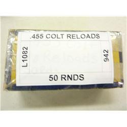.455 COLT RELOADS
