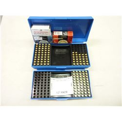 BULT AMMO NO SHIPPING, .22 CAL IN (TWO) MTM CASE GUARD CASES