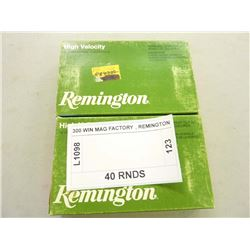 300 WIN MAG FACTORY , REMINGTON