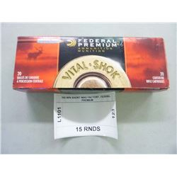 300 WIN SHORT MAG FACTORY, FEDERAL PREMIUM