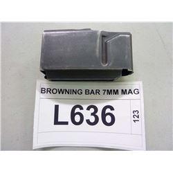 BROWNING BAR 7MM MAG