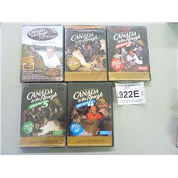 CANADA IN THE ROUGH DVD SETS