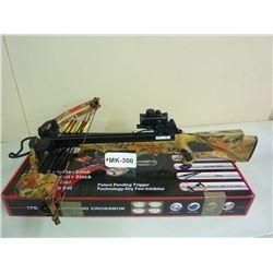 CROSSBOW , NEW IN BOX, SPLIT LIMB COMPOUND LIMB, 300 FPS, 175 DRAW, MK 300