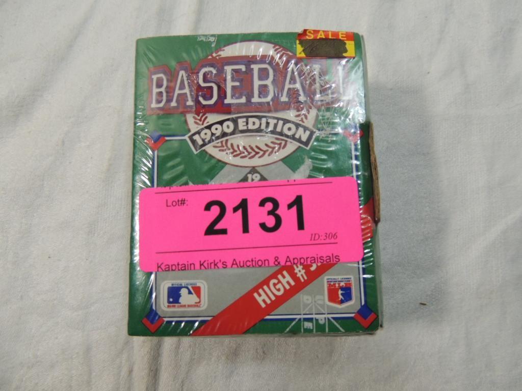 1990 Upper Deck High Number Series Baseball Card
