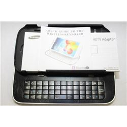 BATTERY/SLIDE OUT KEYBOARD HARD CASE FOR GALAXY S4