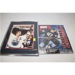 GRETZKY AND CROSBY WALL ART