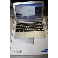 SAMSUNG CHROMEBOOK, CHROME OS, SSD HARD DRIVE