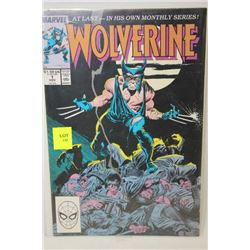 MARVEL WOLVERINE #1 COMIC (FIRST EDITION)