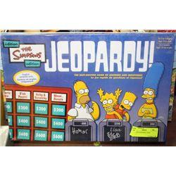 SIMPSONS JEOPARDY, NEW