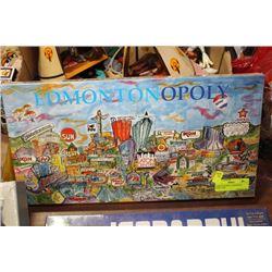 EDMONTONOPOLY MONOPOLY GAME, NEW