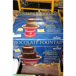 CHOCOLATE FOUNTAIN IN BOX