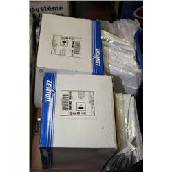 BOX OF ELECRICAL COVER PLATES