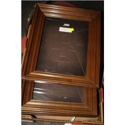 5 NEW PICTURE FRAMES