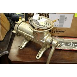 MEAT GRINDER W/ ATTACHMENTS