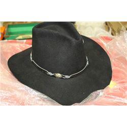 NEW LADIES BLACK FELT BAILEY TUESON COWBOY HAT