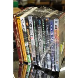 BNDLE OF 10 ADVENTURE DVD'S