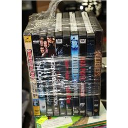 BUNDLE OF 10 SCARY DVD'S