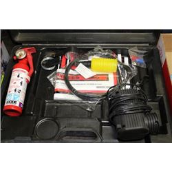 VEHICLE SAFETY KIT IN CASE