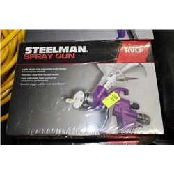 STEELMAN CONVENTIONAL GRAVITY FED SPRAY GUN