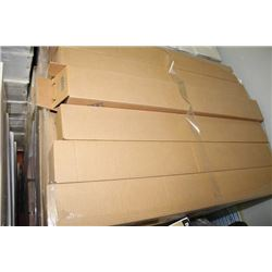 PALLET OF FLUORESCENT LIGHT COVERS