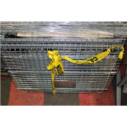 HEAVY DUTY COLLAPSIBLE PALLET CRATE