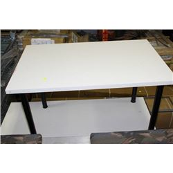 OFFICE DESK SOLD WITH SMALL TABLE